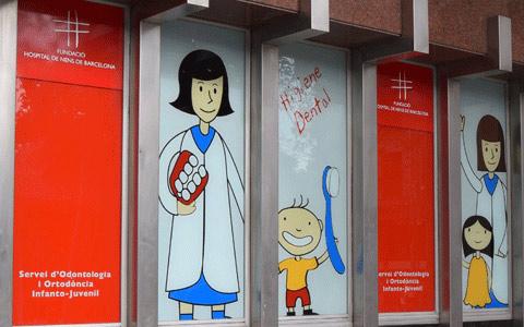 Consell de Cent, 437 (Hospital de Nens)